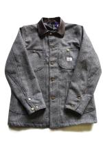 MOJOJO HERRINGBONE WOOL COVERALL
