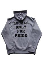 "R.D.C.S.inc ""THE LOCAL"" FULL ZIP 【GRAY】"