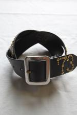 R.D.C.S x DESIRE LEATHER BELT 【BLACK】