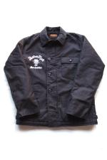 KUSTOMSTYLE A-2 DECK JACKET 【BLACK】