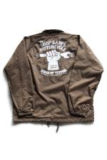 "SHOP SAM'S ""HAND POWER"" NYLON COACH 【BROWN】"