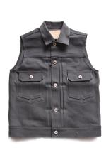 RED TAiL Cross Denim Vest 2nd  【BLACK】