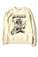 "RED TAiL ""SW? Monster"" Sweat 【Oatmeal】"