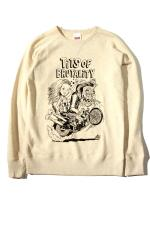 "RED TAiL ""TOB Monster"" Sweat 【Oatmeal】"