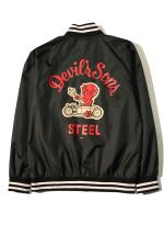 "STEEL ""Devils""STADIUM JKT 【BLACK】"