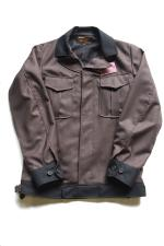 SIRANOBROS LIKE JACKET 【BROWNxBLACK】
