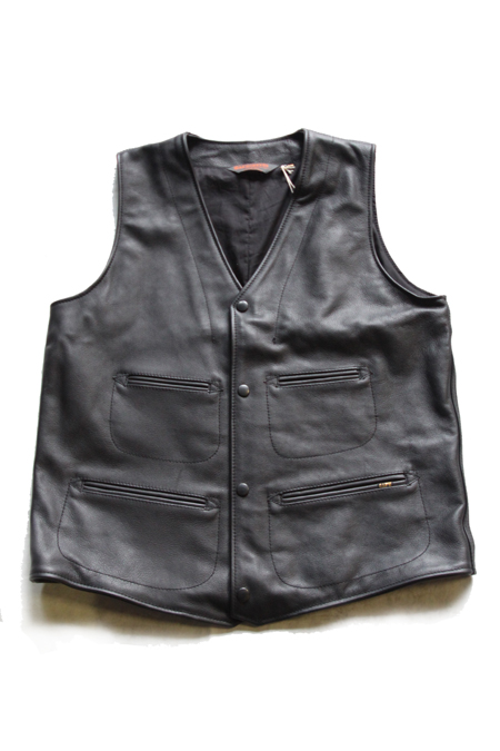 G&F WORKERS LEATHER VEST