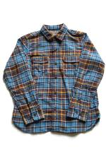 RED TAiL Frannel L/S Check Shirt 【BLUE】