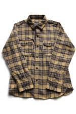RED TAiL Frannel L/S Check Shirt 【YELLOW】