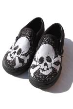 VANS SLIPON SHOES 【SKULL】