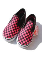 VANS SLIPON SHOES 【Check】