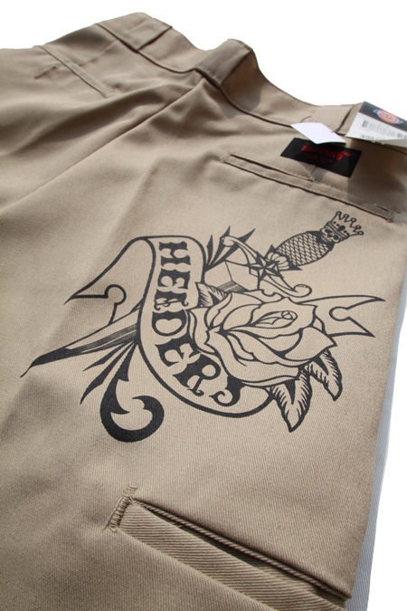 HEADERS TATTOO SHORT PANTS 【KH】