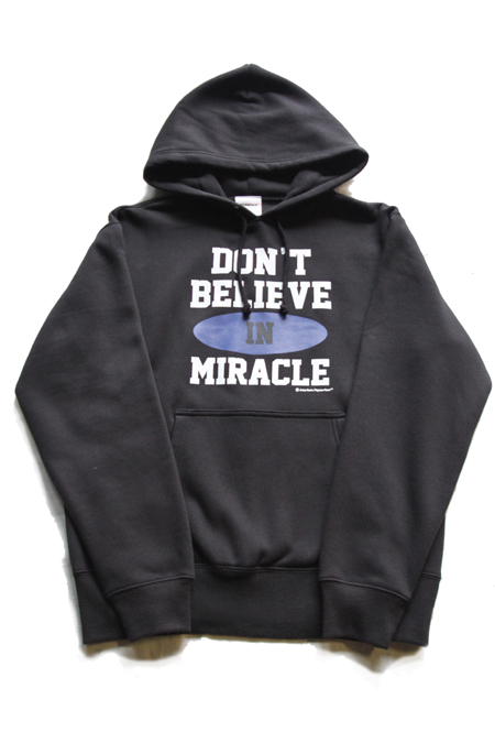"INTERFACE "" DON'T BELIEVE "" PULLOVER PARKA 【BK】"