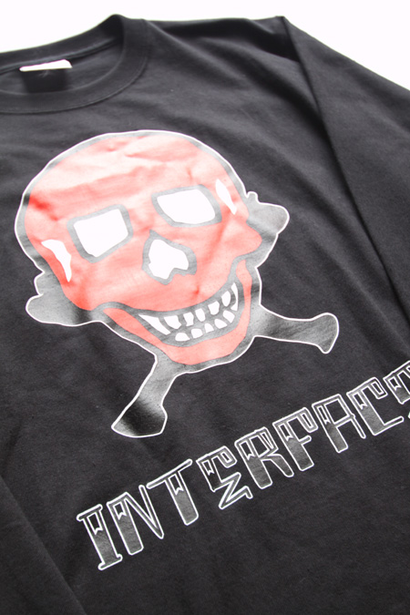 "INTERFACE  ""RES SKULL"" TEE 【BK】"