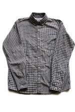 INTERFACE CRAZY GINGHAM B.D SHIRTS 【BK】