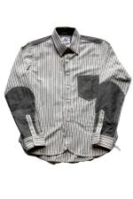 EVILACT three color scheme shirt's 【stripe】