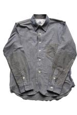 EVILACT three color scheme shirt's 【Blue】