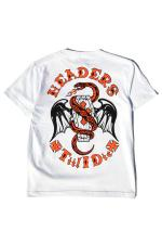 HEADERS Coffin&Snake T-Shirt 【White】