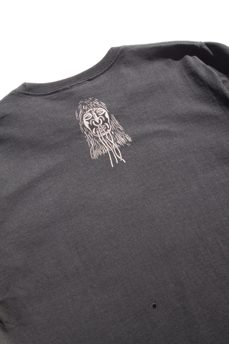 "SIRANO BROS ""Shrunken Head"" T-SHIRTS 【BLACK】"