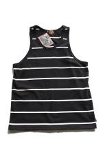 RED TAiL DSH Border Tank Top 【Bk/Nt】