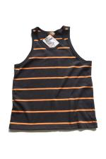 RED TAiL DSH Border Tank Top 【Bk/Og】