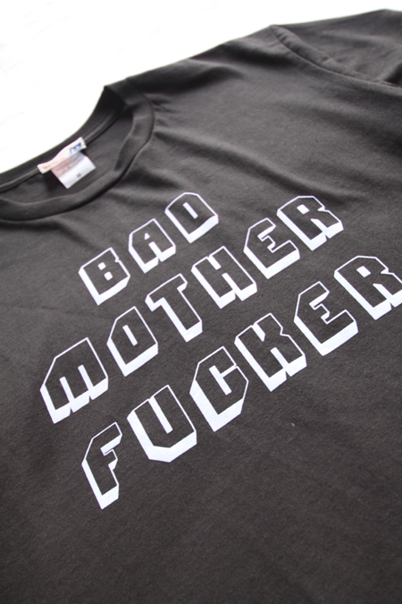 MOJOJO BAD MOTHER FUCKER T-SHIRTS 【BLACK】