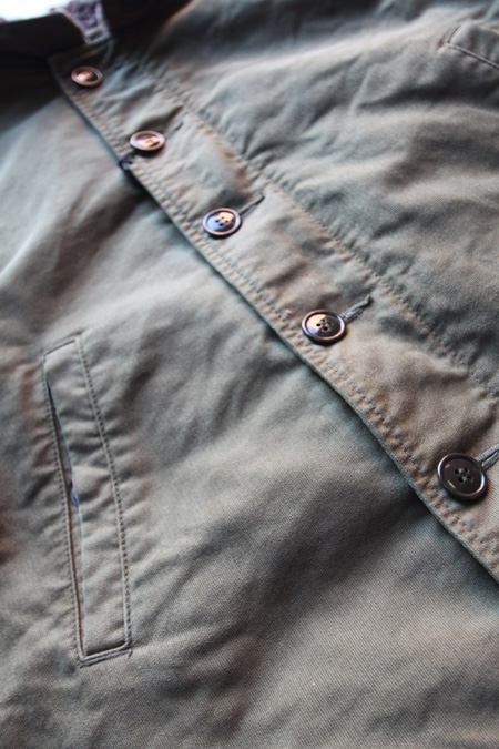 RED TAiL N-1 MC VEST 【Brown Khaki】