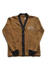 "KUSTOMSTYLE ""EXHAUST SPECIALIST""  BORDER CARDIGAN"
