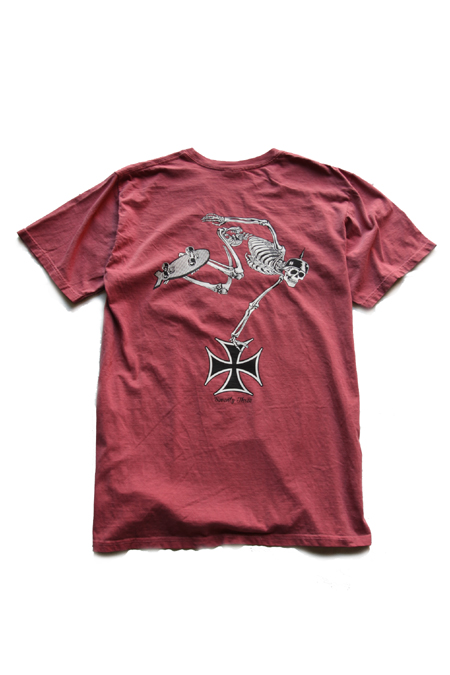 R.D.C.S.inc Hell Rider T*SHIRTS 【RED】