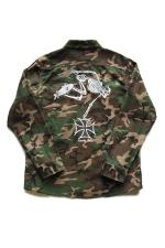 R.D.C.S.inc Hell Rider CAMO L/S SHIRTS  【WOODLAND】
