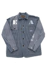 EVILACT WASHED BA COVERALL 【HICKORY】