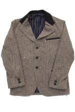 SIRANOBROS Cyclists Jacket 【Nep Tweed】