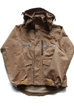EVILACT TWILL WAX CORTING FOOD JKT 【beige】