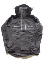 EVILACT TWILL WAX CORTING FOOD JKT 【Black】