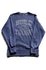 "SAM'S ""BUILD TOUGH"" CREW SWEAT 【NAVY】"