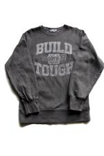 "SAM'S ""BUILD TOUGH"" CREW SWEAT 【BLACK】"